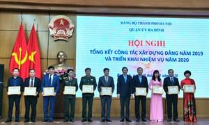 Hội nghị tổng kết công tác xây dựng Đảng năm 2019 và triển khai nhiệm vụ năm 2020