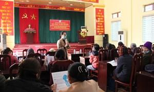 Truyền thông chăm sóc sức khỏe sinh sản tại xã Đồng Tâm huyện Mỹ Đức