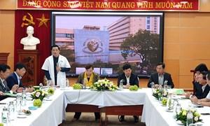 """Bệnh viện Phụ sản Hà Nội: Cần lấy nhân lực làm nguồn chủ đạo xây dựng """"thương hiệu"""""""