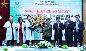 Chủ tịch HĐND Thành phố: Ngành y tế góp phần sớm đẩy lùi dịch bệnh, người dân được sống trong môi trường an toàn