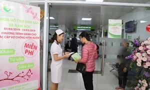 Bệnh viện Phụ sản Hà Nội chia sẻ và đồng hành cùng các cặp vợ chồng hiếm muộn