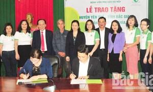 Hỗ trợ xây nhà nhân ái cho hộ nghèo tại huyện Yên Thế