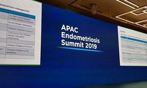 Hội nghị chuyên đề Lạc nội mạc tử cung khu vực châu Á – Thái Bình Dương.