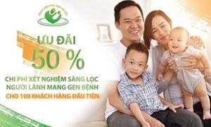 Bệnh viện phụ sản Hà Nội: Giảm 50% chi phí xét nghiệm sàng lọc người lành mang gen bệnh
