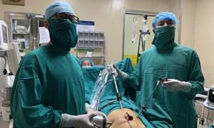 Mổ nội soi bảo toàn tử cung cho bệnh nhân đa u xơ