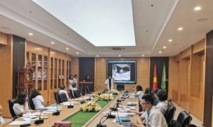 Tổng duyệt các đề tài tham dự Hội nghị khoa học và công nghệ tuổi trẻ ngành y tế lần thứ XX