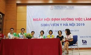 Ngày hội định hướng việc làm - Trường Đại học Y Hà Nội