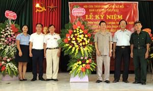 Biết ơn đội cựu Thanh niên xung phong đặc biệt.