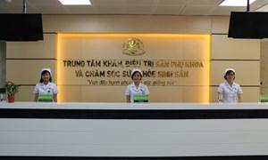 Tri ân khách hàng nhân kỷ niệm 40 năm thành lập Bệnh viện Phụ Sản Hà Nội tại Cơ sở 2 - 38 Cảm Hội