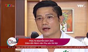 (VTV) Bệnh viện Phụ sản Hà Nội triển khai khám, chữa bệnh từ xa