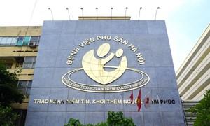 Bệnh viện Phụ sản Hà Nội lần đầu thực hiện thành công 2 ca phẫu thuật trong buồng ối