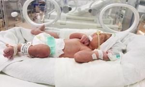 Khen thưởng các bác sĩ cứu sống sản phụ và thai nhi bị vỡ tử cung thai kỳ