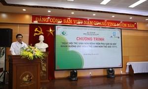 Ngày hội sinh non Bệnh viện Phụ Sản Hà Nội