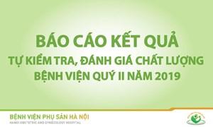 BÁO CÁO KẾT QUẢ KIỂM TRA CHẤT LƯỢNG CÁC KHOA/PHÒNG QUÝ II NĂM 2019