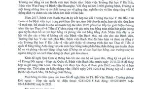 Thông báo về học bổng đào tạo Thạc sĩ/Tiến sĩ tại trường Đại học Y Đài Bắc, Đài Loan