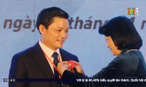 Đài TH Hà Nội - Bệnh viện Phụ Sản Hà Nội kỷ niệm 40 năm thành lập và đón nhận huân chương Lao động hạng Nhất