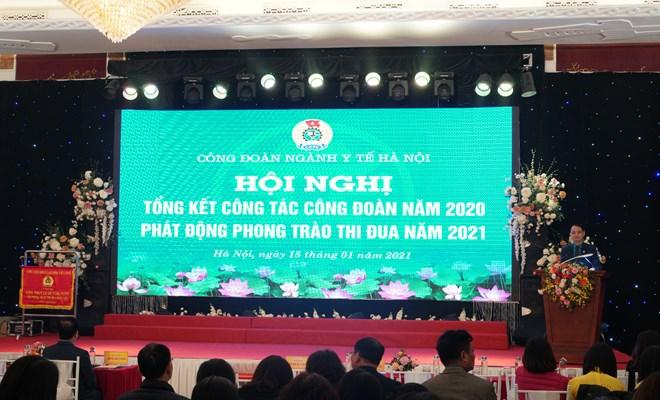 Tổng kết công tác công đoàn năm 2020 và phát động phong trào thi đua năm 2021