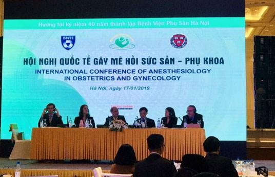 Hội nghị quốc tế gây mê hồi sức sản phụ khoa (Truyền hình nhân dân)