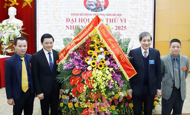 Tổ chức thành công Đại hội điểm cấp cơ sở Đảng bộ Bệnh viện Phụ sản Hà Nội