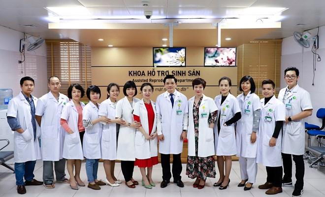 Đội ngũ y bác sĩ Khoa Hỗ trợ Sinh sản – Bệnh viện Phụ sản Hà Nội tận tâm với nghề