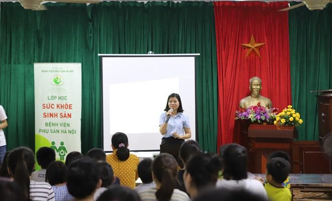 Chương trình giáo dục giới tính tại Trung tâm trẻ mồ côi Hà Cầu.