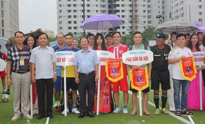 Giải bóng đá mini ngành Y tế Hà Nội 2019