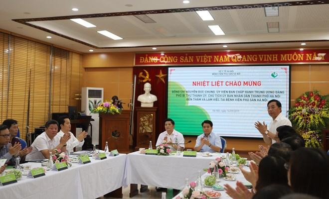 Bệnh viện Phụ sản Hà Nội đề xuất với Chủ tịch UBND thành phố xây khối nhà phẫu thuật mới tiêu chuẩn quốc tế