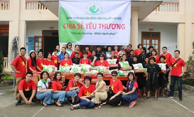 Bệnh viện Phụ Sản Hà Nội thiện nguyện tại Hoàng Su Phì tỉnh Hà Giang
