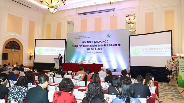 Hội nghị khoa học chỉ đạo tuyến chuyên ngành sản phụ khoa lần thứ 6 – 2018