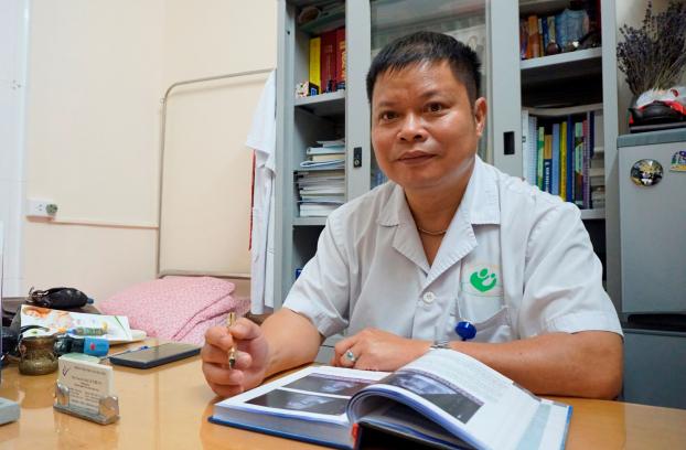Ths. BS Lê Thế Vũ - Trưởng khoa C3, Bệnh viện Phụ sản Hà Nội