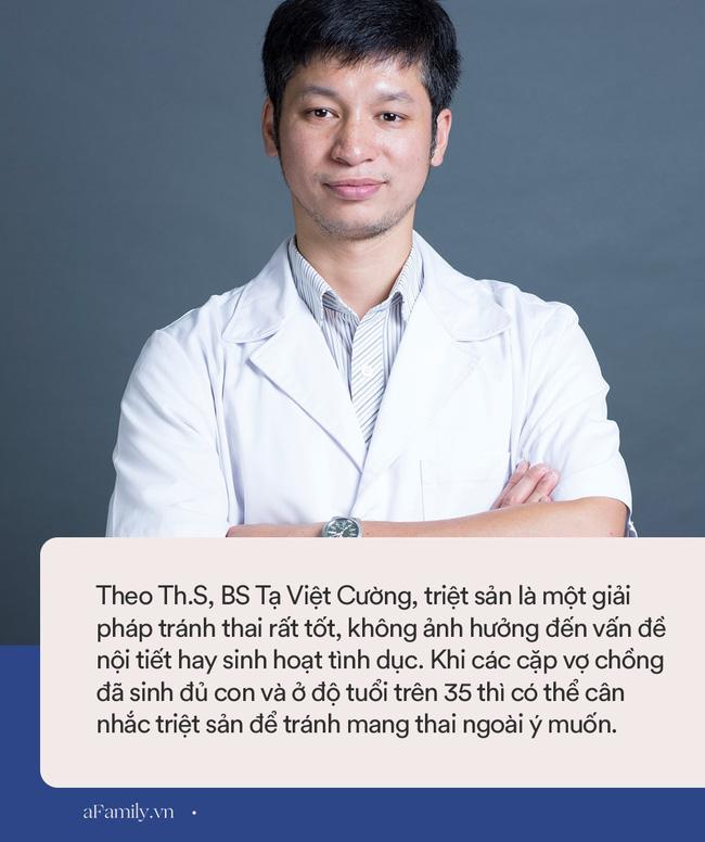 """Bác sĩ Bệnh viện Phụ sản Hà Nội giải đáp thắc mắc của chị em: """"Triệt sản có đẻ tiếp được không, có giảm ham muốn không?"""" - Ảnh 2."""