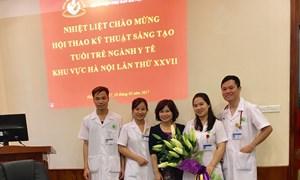 Kết hợp đặt ống thông (Catheter) động mạch và tĩnh mạch rốn trong cấp cứu suy tuần hoàn sơ sinh tại Bệnh viện Phụ Sản Hà Nội