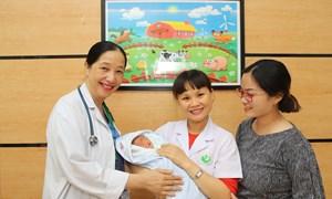 Chăm sóc trẻ sơ sinh dưới 30 ngày tuổi
