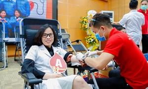 """Chương trình """"Hiến máu nhân đạo"""" năm 2021 – Bệnh viện Phụ Sản Hà Nội"""