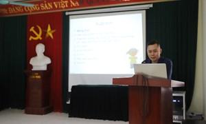 Truyền thông giáo dục sức khỏe sinh sản cho hội LHPN huyện Thanh Oai