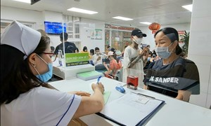 Cùng mami Diệp Anh đi làm hồ sơ sinh tại Bệnh viện Phụ Sản Hà Nội