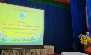 Truyền thông về kiến thức và kỹ năng chăm sóc sức khỏe sinh sản cho lứa tuổi vị thành niên tại Hội LHPN Huyện Hoài Đức