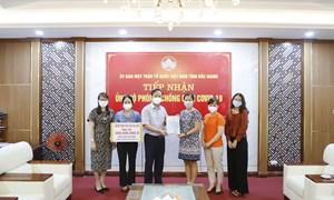 Ủng hộ 2 tỉnh Bắc Ninh, Bắc Giang chống dịch covid 19