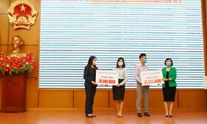 """Bệnh viện Phụ Sản Hà Nội ủng hộ quỹ """"Vì người nghèo"""" năm 2021"""