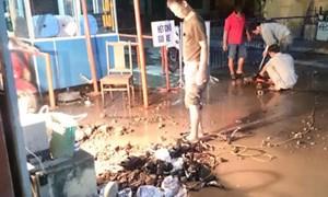 Mất nước, Bệnh viện Phụ sản Hà Nội ngừng các ca mổ sinh
