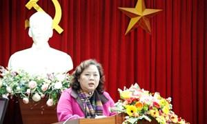 Nhiệt liệt chào mừng lãnh đạo thành ủy, ủy ban nhân dân thành phố Hà Nội, Sở Y tế Hà Nội đến thăm và làm việc tại bệnh viện nhân dịp tết Nguyên đán xuân Ất Mùi