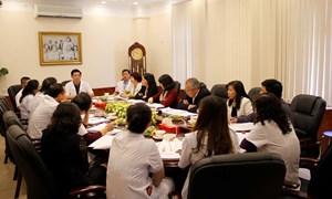 Trung tâm chăm sóc sức khỏe sinh sản Hà Nội và Hà Đông báo cáo tóm tắt hoạt động chuyên môn, tài chính kế toán, tổ chức cán bộ