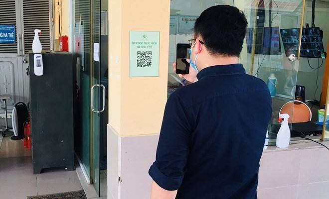 Khai báo thông tin y tế điện tử trước khi đến Bệnh viện Phụ Sản Hà Nội