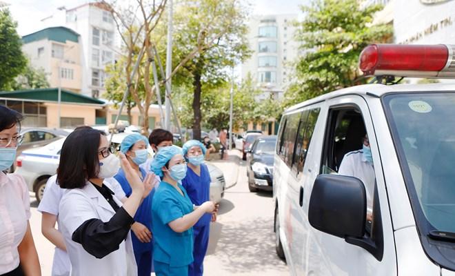 Sẵn sàng lên đường chi viện Bắc Giang phòng chống covid 19