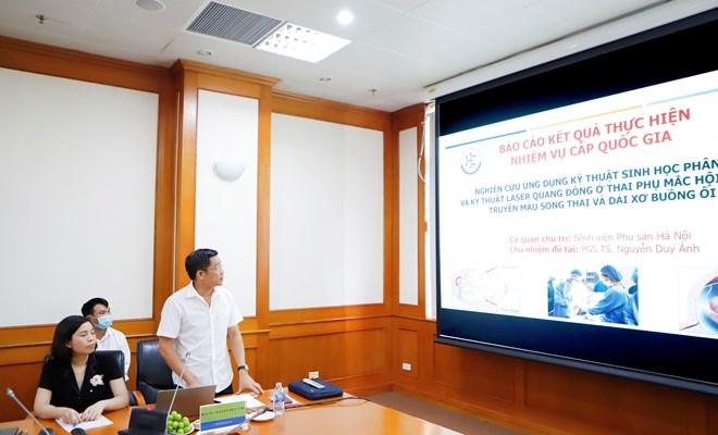 Báo cáo kết quả thực hiện nhiệm vụ khoa học & công nghệ cấp quốc gia