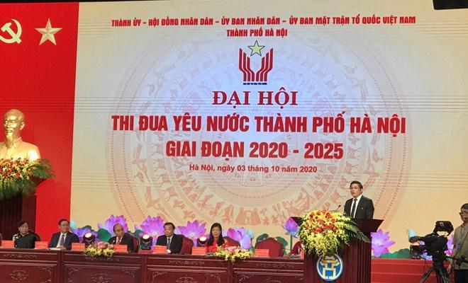Phát biểu tham luận của Giám đốc Bệnh viện Phụ Sản Hà Nội tại Hội nghị thi đua yêu nước thành phố Hà Nội